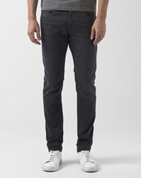 Diesel Gray Tapered Slim Cut Thommer Jeans Grey