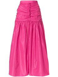 Stella Mccartney Draped Waist Skirt Pink And Purple