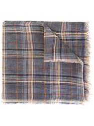 Fashion Clinic Timeless Checked Scarf Multicolour