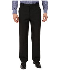 Perry Ellis Classic Fit Linen Portfolio Pant Black Men's Dress Pants