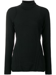 Y 3 Turtleneck Jumper Black