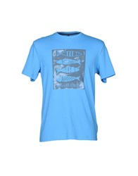 Harmont And Blaine T Shirts Azure