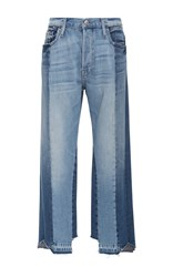 Frame Denim Nouveau High Rise Fit Le Mix Jeans Light Wash