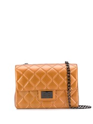 Designinverso Milano Quilted Crossbody Bag Orange