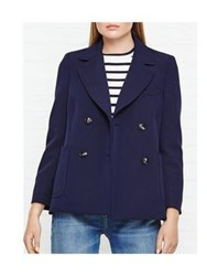 Whistles Double Breasted Blazer Navy