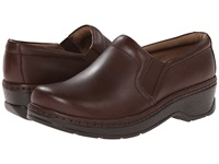 Klogs Usa Naples Coffee Smooth Leather Women's Clog Shoes Brown