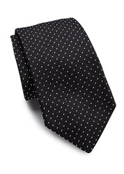 Polo Ralph Lauren Grenedine Dotted Silk Tie Black