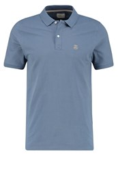 Selected Homme Shdaro Polo Shirt Blue Mirage Blue Grey