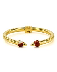 Vita Fede Mini Titan Stone Tip Cuff Red Gold