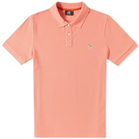 Paul Smith Regular Fit Zebra Polo Pink