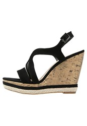 Pier One Wedge Sandals Black