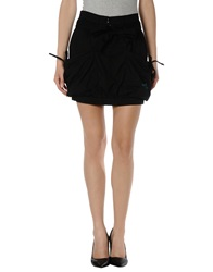 Fenchurch Mini Skirts Black