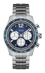 Guess W0969g1 Gents Metal Bracelet Watch Silver
