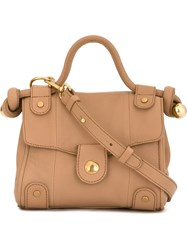 See By Chloe See By Chloe Small 'Dixie' Satchel Brown