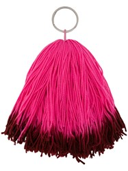 Calvin Klein 205W39nyc Ombre Key Chain Pink And Purple