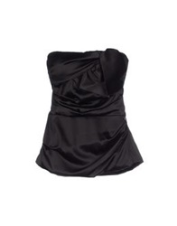 Elisabetta Franchi Tube Tops Black