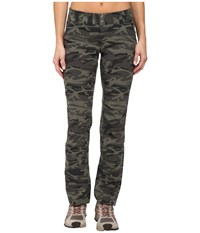 Columbia Saturday Trail Printed Pants Gravel Camo Print Women's Casual Pants Gray