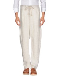 Poeme Bohemien Casual Pants Ivory