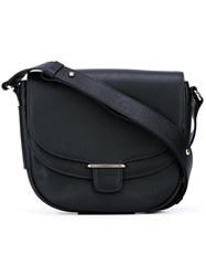 Tila March 'Garance Saddle' Shoulder Bag Black