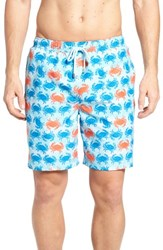 Peter Millar 'S Crab Shack Swim Shorts Atlantic Blue