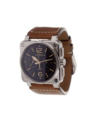 Bell And Ross 'Br 03 Golden Heritage' Analog Watch Stainless Steel