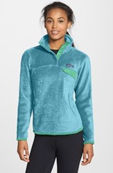 Patagonia Women's 'Re Tool' Snap Pullover Cuban Blue Cuban Blue X Dye