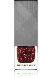 Burberry Beauty Nail Polish Ruby Glitter No.306 Red