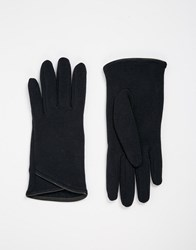Totes Thermal Glove With Pu Trim Navy