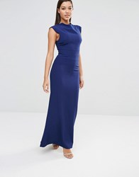 Aq Aq Aqaq Vapid Maxi Dress Pariot Blue Navy