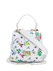 Patrizia Pepe Embroidered Floral Tote Bag 60