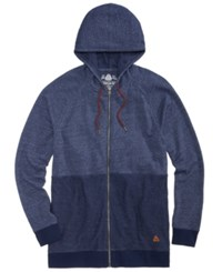 American Rag Men's Colorblocked Full Zip Hoodie Created For Macy's Crisp Navy