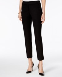 Style And Co Skinny Ankle Pants Only At Macy's Deep Black