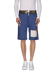 Reign Trousers Bermuda Shorts Men Slate Blue