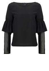 Club Monaco Aczib Blouse Black