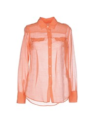 Fred Perry Shirts Shirts Women Orange