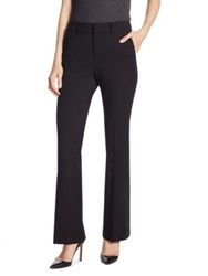 Saks Fifth Avenue Collection Zip Front Trouser Black