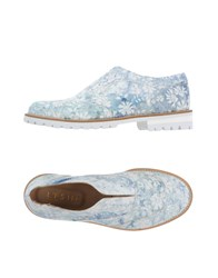 L'f Shoes Loafers Sky Blue