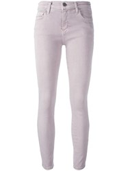 Current Elliott 'The Stiletto' Jeans Pink Purple
