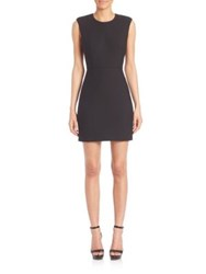 Elizabeth And James Mckay Sleeveless Fitted A Line Dress Black