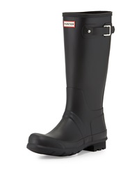Men's Original Tall Wellington Boot Black Hunter Boot