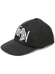 Off White Baseball Cap Black