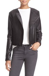 Veda Women's 'Dali' Lambskin Leather Jacket Black