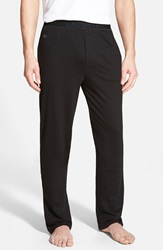 Lacoste Pique Lounge Pants Black