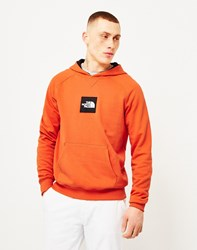 The North Face Black Label Fine Hoodie Orange