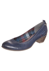 S.Oliver Classic Heels Navy Blue