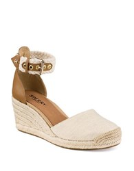 Sperry Valencia Espadrille Wedges Natural