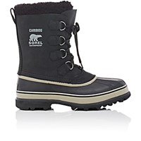 Sorel Men's Caribou Snow Boots Black Blue Black Blue