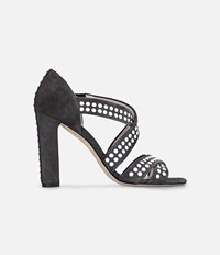 Christopher Kane Hotfix Sandals Grey