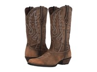 Durango Dream Catcher 12 Fancy Stitch Distressed Brown Tan Cowboy Boots