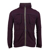 Lords Of Harlech Dune Jacket In Berry Pink Purple
